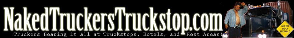 Naked Truckers Truckstop Logo